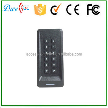 125khz ip access keypad rfid control card readers