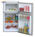 Manual defrost 12v fridge freezer upright freezer