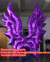 Inflatable Shining Wing Costume for Events/Advertising