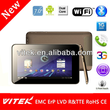 China supplier 7inch Camera WiFi new max tablet