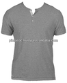 100% Pima Cotton Henley T-Shirt
