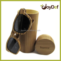 2016 New Fashion Cheap Hard Sun glass Zebrawood sunglasses Bamboo Case