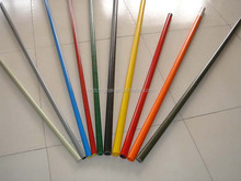 High strength low weight fiberglass snow poles