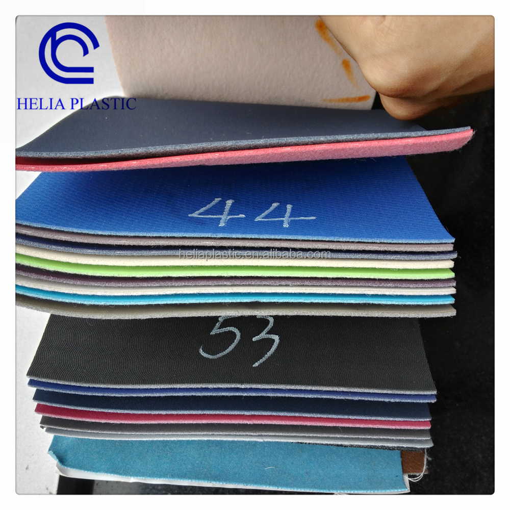 Leather Stock PU Material for Car Seat, Sofa, Shoes
