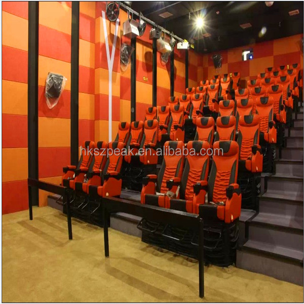 Best investment cinema plan! amusement games 5d cinema 5d kiddie ride racing simulator 7d with 3d blu ray movies