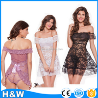 hot transparent nightwear japanese mature women lingerie sexy babydoll