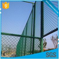 Extensively used as fencing pvc coated temporary steel chain link fence post