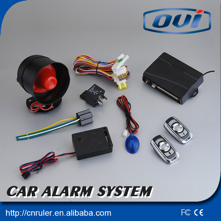 Universal One Way Car Alarm System with Siren And Auto Central Door Lock Suitable For All Kinds Of Cars