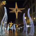 Outdoor led motif light christmas arch for street decoration