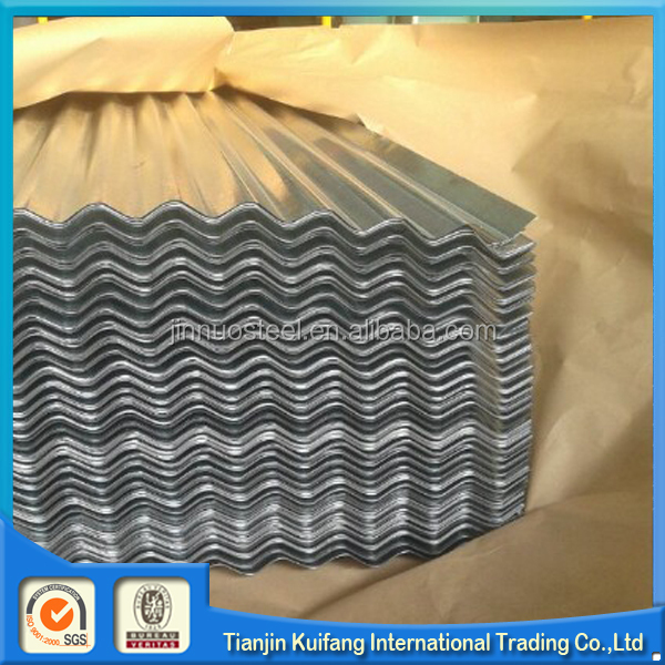 0.40mm thickness galvanized corrugated roofing steel sheet