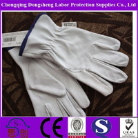 10.5'' Cow Split Leather Canadian Rigger Gloves Working Gloves