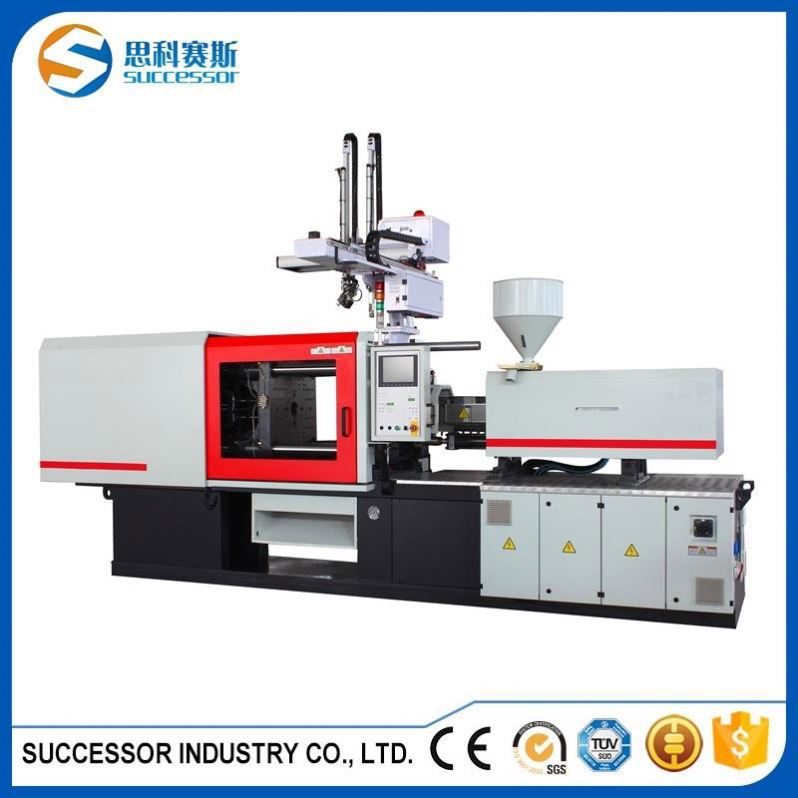 Benchtop Plc Controlled Double Shot Injection Plastic Molding Machine