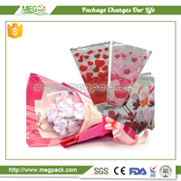High quality plastic flower sleeves