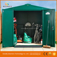 Steell Roof Bike Metal Garden Shed
