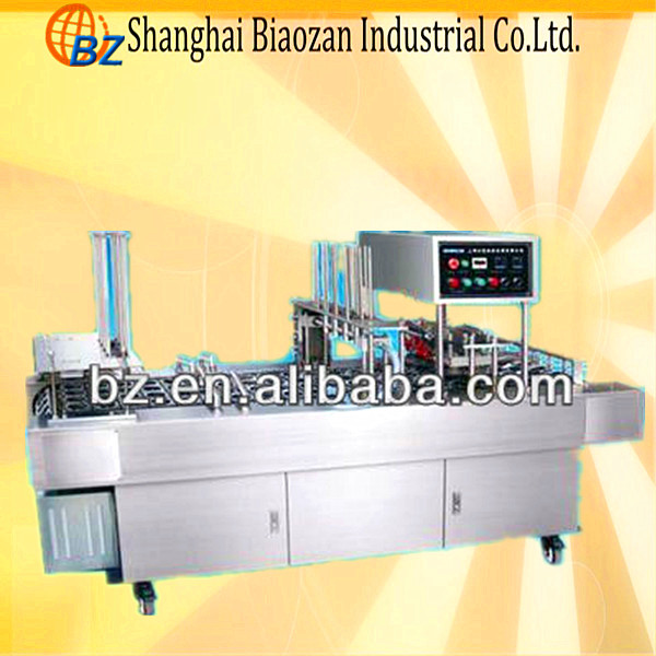 Automatic Coffee and juice milk cup Filling and Sealing Machine