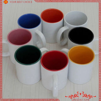 sales promotion A grade 11oz.inner colour mugs for sublimation printable