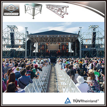 Aluminium Mobile DJ lighting Truss for events