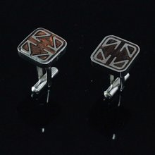 New Style Charm fashion Custom stainless steel cufflink findings