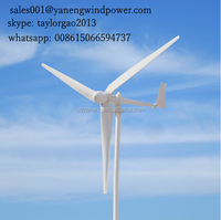 wind power ( eletricity) turbines generator manufacturer in China / 300w- 20kw