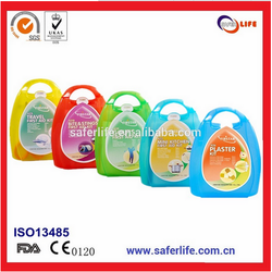 CE approved colorful mini first aid kit medical promotional gift emergency kit for children