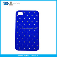light weight diamond shining star leather case for iphone 5