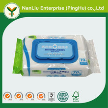 Custom Print Medical Organic Baby Wet Wipes 70P