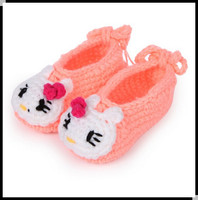 High quality very soft beautiful flower baby girls handmade felt baby baba shoes
