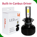 Dual color RGB headlight bulbs china L5D L5 head light lamp kit with/no fan replace hid xenon 40w 48w 80w H1 H3 H7 H4 H10 H8 H9