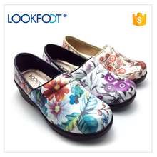 High Quality designer shoes women pu slip clogs