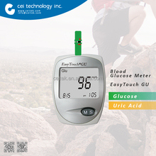 Home Use Diabetes Diagnostic Device Blood Glucose and Blood Uric Acid meter