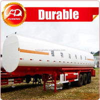 Carton steel Fuel Tanker Trailer, 45000 Liters Fuel Tanker Trailer for sale