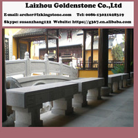 Natural granite tile stone out door table for garden building