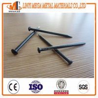 Building Construction Diamond Point black steel nails making machine