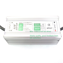 Waterproof led driver 80W constant current 2400mA power supply