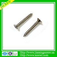 Countersunk head concrete screw masonry screw self tapping screw factory price