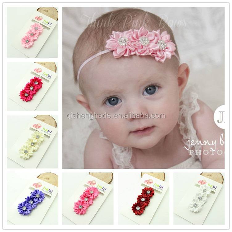 Hot selling baby sequin bow headband wholesale price kids elastic headwrap bella fairy girls headband