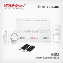 868MHZ/433MHZ high performance GSM alarm system with APP and appliance control function