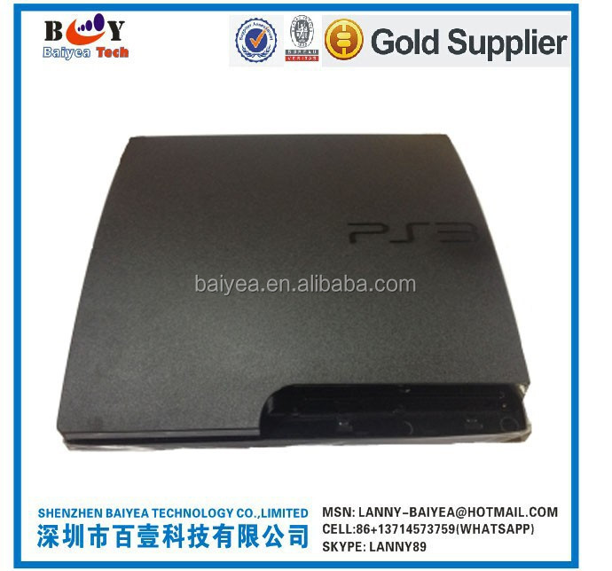 Housing case(Black) for PS3 Slim 2000# 2500# 3000#