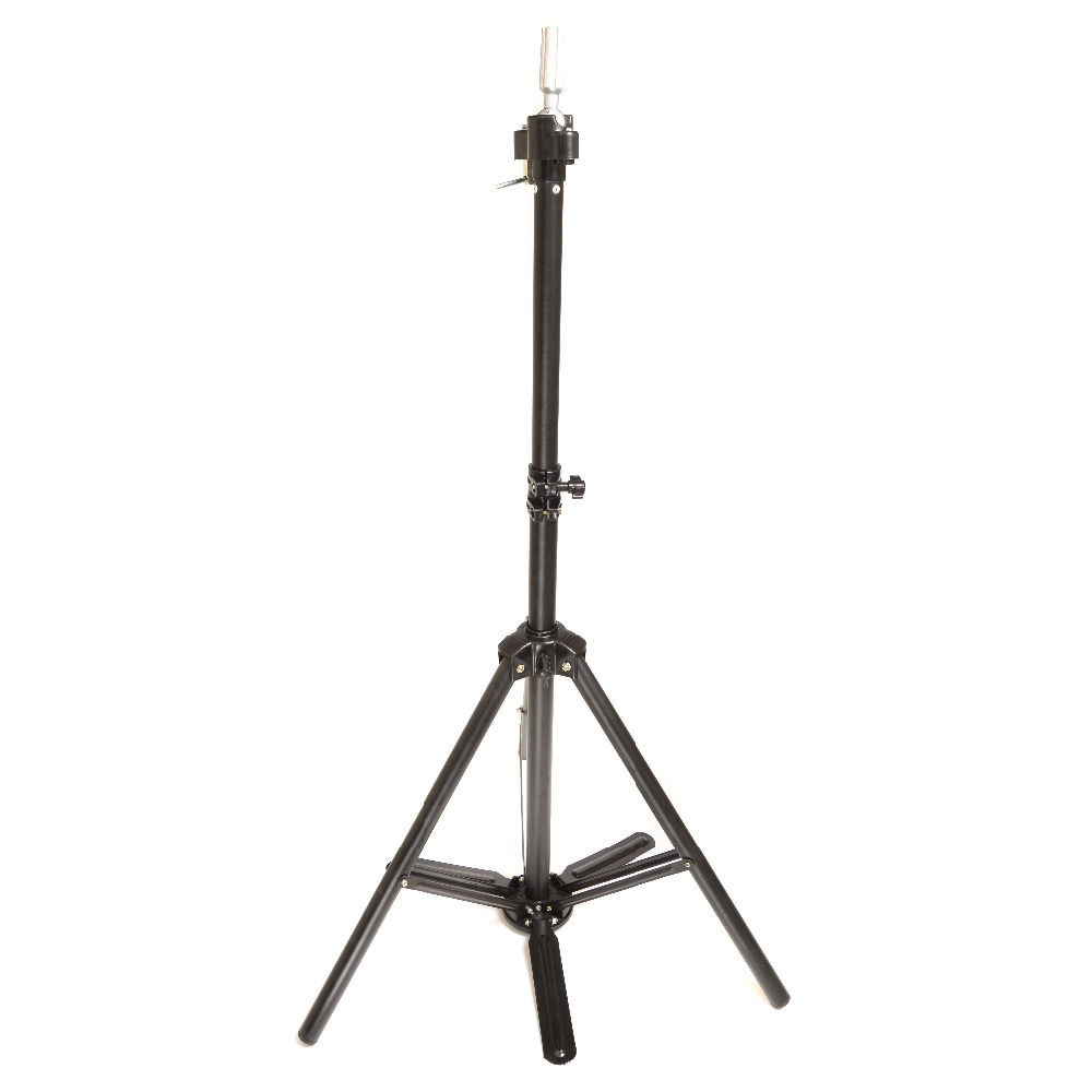 Adjustable Hair Salon Tripod Stand Cosmetology Mannequin Training Head Holder