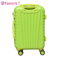 Factory price abs luggage suitcases 3 piece abs trolley travel luggage polycarbonate luggage reviews wholesales