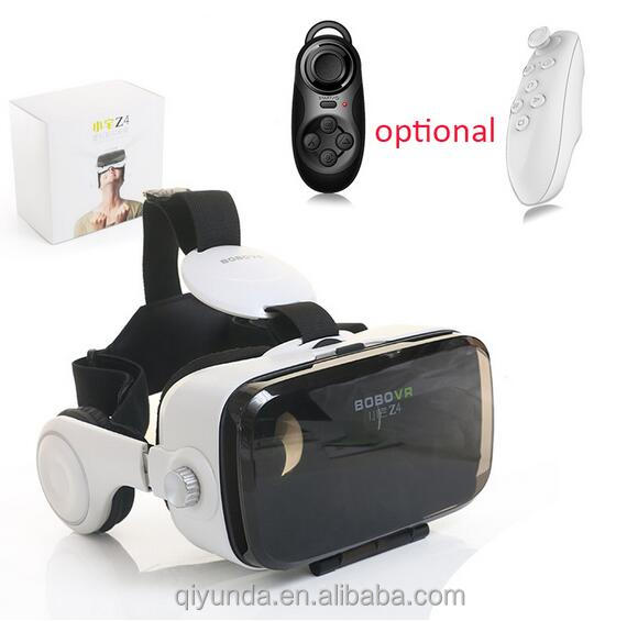 China factory supply bobovr z4 3d vr glasses virtual reality head mount 3d movies vr box 2.0 remote controller