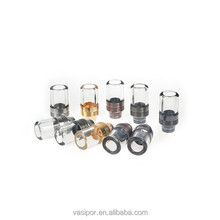 cheap oblique drip tip replace glass mouthpiece for cbd cartridge