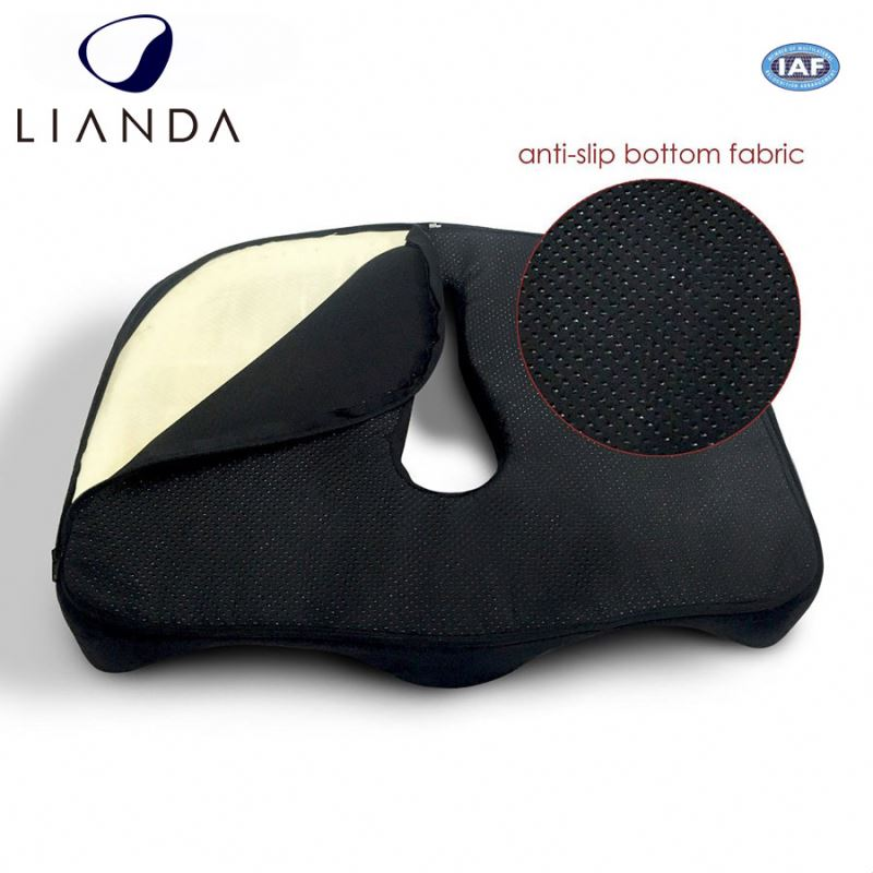 Sample available Coccyx Orthopedic therapeutic seat cushions with lidl