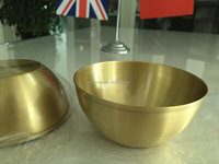 Top end customize antique brass bowl