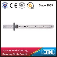 150mm Stainless Steel Ruler With Clip