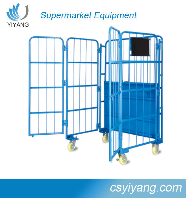 wire rolling storage cage steel storage cages