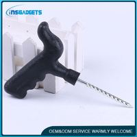 Tire disassembl tool ,h0tUP tyre repair spiral probe needle for sale