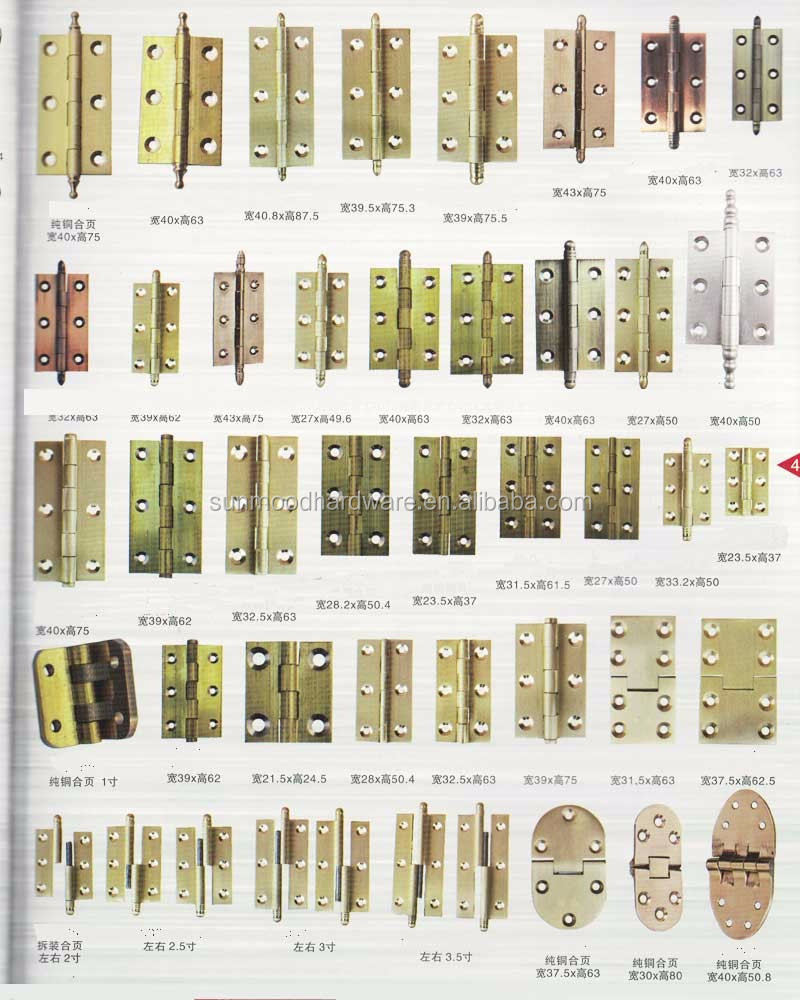 50 products brass hinges door woodworking concealed furniture hinge