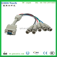 CCTV Camera HDB15Pin to BNC Connector Cable With Low Price