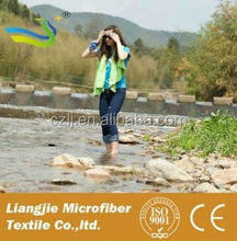 Reactive Printed micro fiber fabrics striped luxury towels wholesalers in china